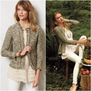 Angel of the North Fringed Eliot Cardigan Size S